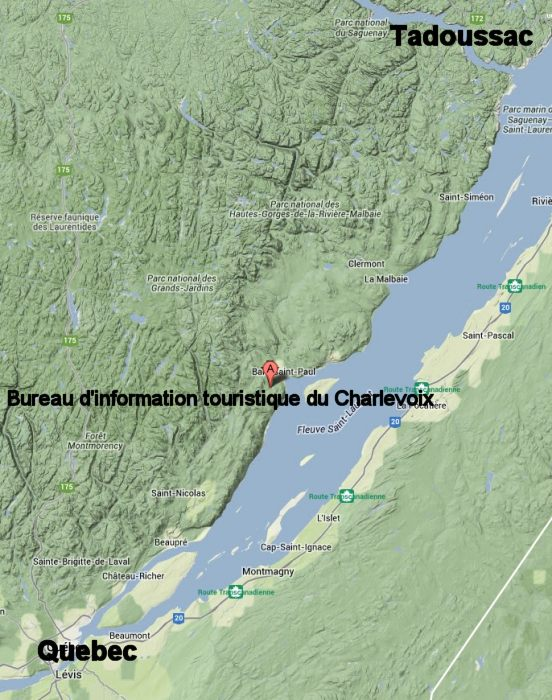 charlevoix-astrobleme-loc Ontario