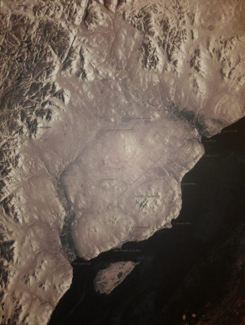 charlevoix-astrobleme-radar Quebec